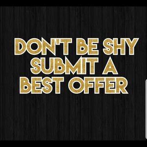 Send me your best offer :)